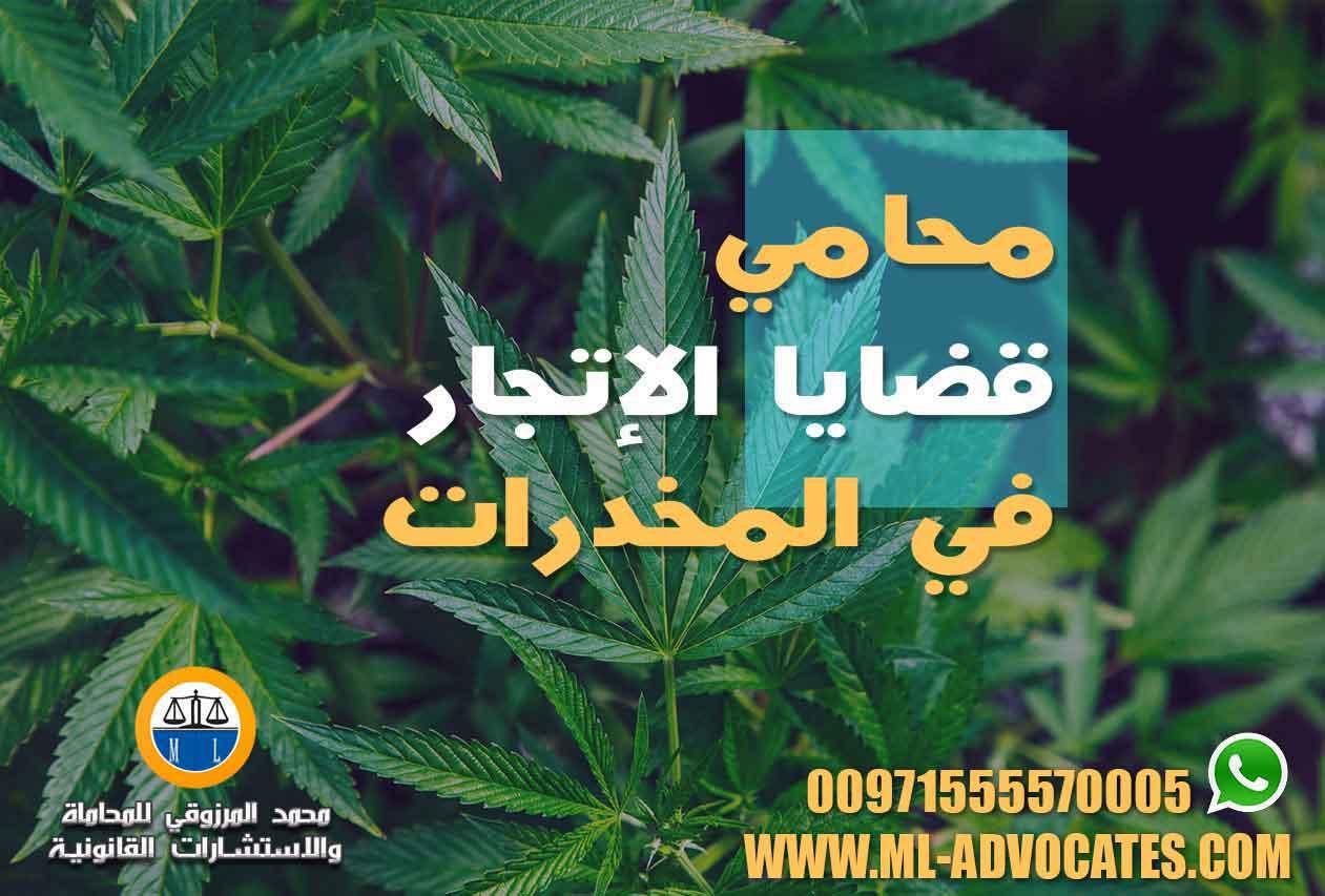 محامي-قضايا-الإتجار-في-المخدرات
