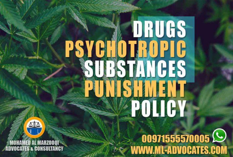 Drugs Psychotropic Substances Punishment Policy