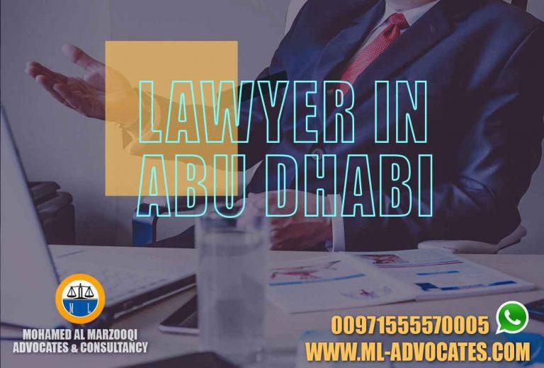 Lawyer Abu Dhabi