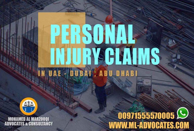 Personal Injury Claims Dubai Abu Dhabi