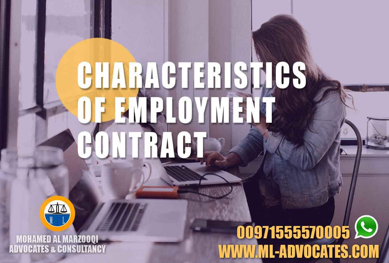 Characteristics-Employment-Contract-Lawyer-Dubai-Lawyers-Abu-Dhabi